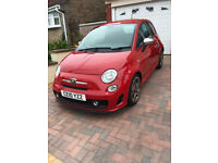 Abarth 500 Red Low Mileage