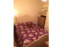 Beautiful custom shabby chic kingsize bed frame