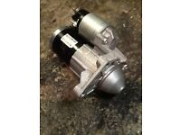 VAUXHALL VIVARO STARTER MOTOR ,GENUINE PART ,LIKE NEW ,DONE 700 MILES ,1.9 CDTI SPORTIVE 2006 -2017