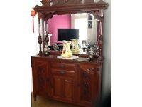 Victorian mirror sideboard