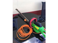 Electric hedge trimmer--florabest. Very seldom used and it good condition. OMAGH AREA