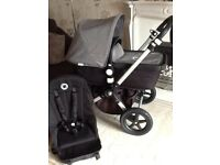 Bugaboo cameleon 3 with grey melange fabrics and maxi cosi car seat vgc