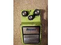 Ibanez SD9 Sonic Distortion Vintage (Early 80s) Guitar Pedal Made in Japan