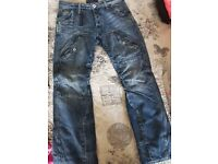 Original g star jeans 32 waist 30 leg