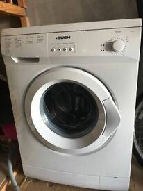 Washing Machine BUSH 6KG White *NEED GONE* COLLECTION