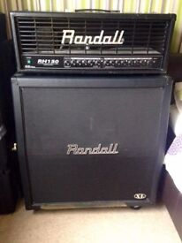 Randall RH150 G3 Plus Amp Head and R412 4x12 Speaker Cabinet HALF STACK
