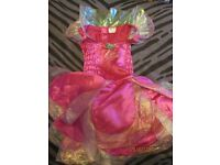 beautiful barbie fairytopia fairy outfit its only the dress age 4/6 years approx