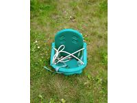 Green Plum baby swing seat only
