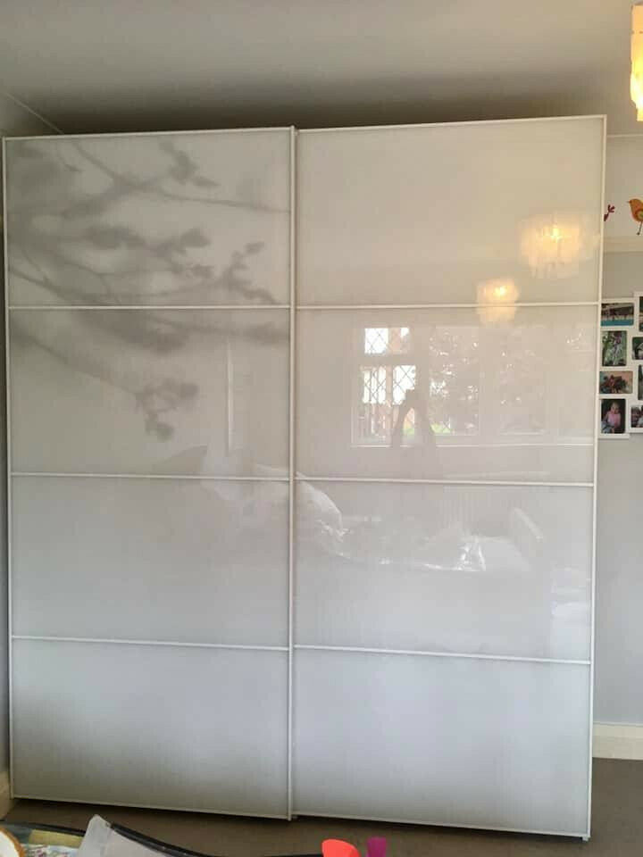best authentic c4d6d c6208 WHITE IKEA PAX WARDROBE WHITE GLASS SLIDING DOORS AND INTERIOR RRP £805 |  in Tilehurst, Berkshire | Gumtree