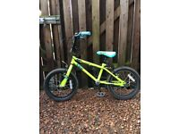 "Boys 16"" Bicycle suitable for around 5 - 8 years. Kids stunt bike. Excellent condition, hardly used."