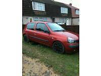 Renault clio 1.2 model 53 plate
