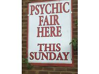 Psychic, Holistic and Unique Gift Fair at The Wellington, Hale Village. 12-7pm. FREE ENTRY!
