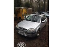 ** NEWTON CARS ** BREAKING 2002 CITROEN SAXO 1.6 VTR, MOST PARTS AVAILABLE, OPEN 7 DAYS A WEEK, CALL