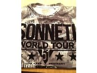 Sonneti t-shirt boys 12-13 years excellent condition wore once