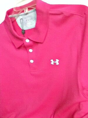 AUTHENTIC UNDER ARMOUR CHARGED COTTON POLO SHIRT 1236464