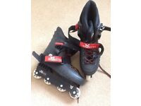 Monster In Line Skates Size 7