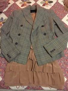 Genuine ZIMMERMANN Wool/Silk Double Breasted Jacket Blazer Coat Hornsby Hornsby Area Preview