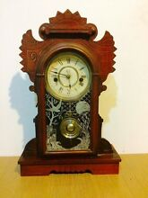 Waterbury mantle clock, ca 1890. fully working, great condition Mulgrave Monash Area Preview