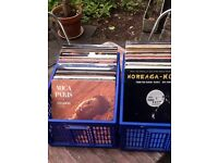 "150 12"" vinyl records mid to late 90's hip-hop and rnb"