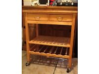 Kitchen Trolley. Practical storage and worksurface.