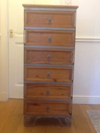 Vintage tall of drawers