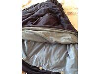 House of Fraser King Size Reversible 100%Cotton Duvet Cover & Pillowcases