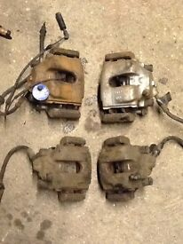 Bmw e46 323ci m52b25tu coupe brake calipers x4 front and rear