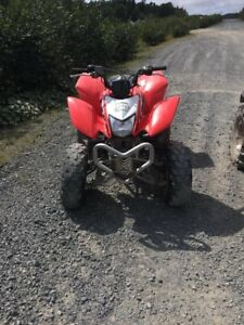 Stolen! 2014 Honda TRX 250 EX - they do not have the key!