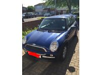 Mini One 1.6. 2003. 52 plate. Blue 3dr. Manual gearbox.