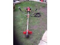 Homelite Petrol Grass Strimmer with strap works great can be seen working cb5 £65