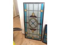 External Leaded Glass Window Panes