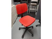 Red Ikea Desk Chair