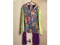 Hippy costume size medium/large