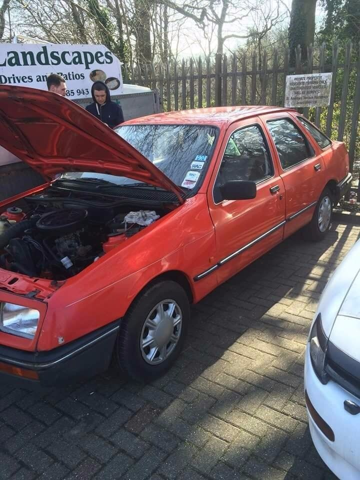 Ford sierra barn find drift classic rwd