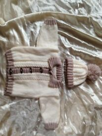 Hand knitted set 3/6 Months New