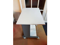 Smalled wheeled table - Sewing/Printer Desk