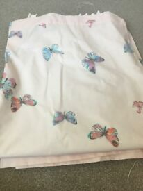 Next butterfly curtains, bedding and lamp shade