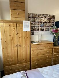 Luxury Hand Crafted Bedroom Furniture Solid pine bedroom furniture From £79