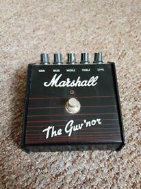 Marshall the guvnor pedal