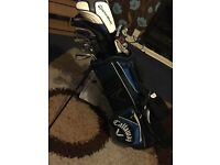 REDUCED Golf clubs with bag full details in description