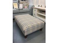 BRAND NEW sofa suite 2+1+luxury footstool, £699.