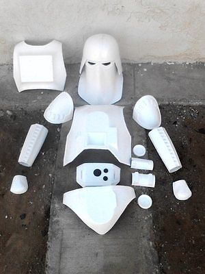 Snow Commander snowtrooper star wars armor prop