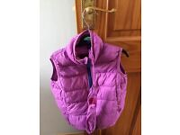 Girls joules gilet age 3