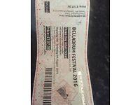 Belladrum ticket 3 day