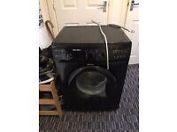 Bush black washing machine