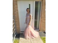 Catherines of Partick / Blush fishtail prom dress, Size 6/8
