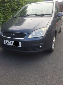 Ford focus cmax ***1.6TDCI ***FULL LEATHER ***LONG MOT