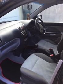 Kia Picanto, 1.1 litre, Black, Very low mileage