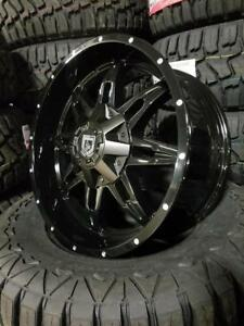 20x9 HEAVY DUTY RIMS STARTING AT $990- MULTIPLE STYLES IN STOCK- FORD, CHEVY, GMC, DODGE, JEEP, TOYOTA