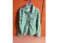 green check shirt giily hollister